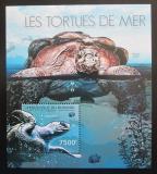 Poštovní známka Burundi 2012 Želvy Mi# Block 282 Kat 9€