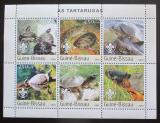 Poštovní známky Guinea-Bissau 2003 Želvy Mi# 2578-83 Kat 11€