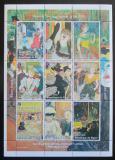 Poštovní známky Niger 1998 Umění, Lautrec Mi# N/N