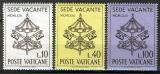 Poštovní známky Vatikán 1963 Znak papeže Mi# 429-31