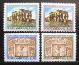 Poštovní známky Vatikán 1964 Ochrana památek v Núbii Mi# 446-49
