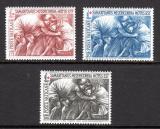 Poštovní známky Vatikán 1964 Umění, Emilio Greco Mi# 459-61