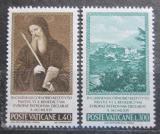 Poštovní známky Vatikán 1965 Benedikt z Nursie Mi# 481-82