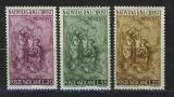 Poštovní známky Vatikán 1966 Vánoce, narození Krista Mi# 514-16