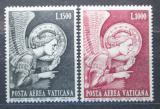 Poštovní známky Vatikán 1968 Archanděl Gabriel Mi# 536-37