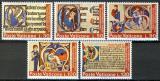 Poštovní známky Vatikán 1972 Mezinárodní rok knihy Mi# 605-09