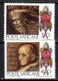 Poštovní známky Vatikán 1978 Umění Mi# 718-19