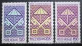 Poštovní známky Vatikán 1978 Erb papeže Mi# 726-28