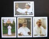 Poštovní známky Vatikán 1978 Papež Jan Pavel I. Mi# 732-35