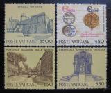 Poštovní známky Vatikán 1984 Kulturní a hospodářská zařízení Mi# 848-51