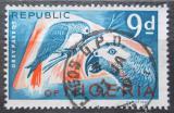 Poštovní známka Nigérie 1966 Papoušek šedý Mi# 182 A