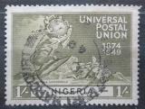 Poštovní známka Nigérie 1949 UPU, 75. výročí Mi# 69