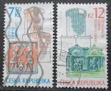 Poštovní známky Česká republika 2007 Historická kamna Mi# 520-21