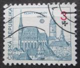 Poštovní známka Česká republika 1993 Český Krumlov Mi# 14