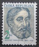 Poštovní známka Česká republika 1993 August Sedláček, historik Mi# 21
