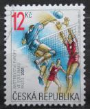 Poštovní známka Česká republika 2001 ME ve volejbalu Mi# 290