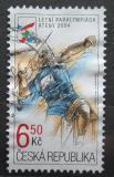 Poštovní známka Česká republika 2004 Paralympijské hry, hod oštěpem Mi# 405