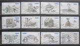 Poštovní známky Francie 2010 Humor Mi# 4965-76 Kat 14€