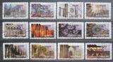 Poštovní známky Francie 2011 Gotická architektura Mi# 5081-92 Kat 14€