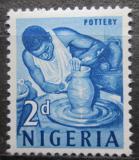 Poštovní známka Nigérie 1961 Hrnčíř Mi# 95