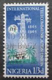 Poštovní známka Nigérie 1965 ITU, 100. výročí Mi# 167
