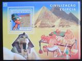 Poštovní známka Guinea-Bissau 2008 Starověký Egypt Mi# Block 673 Kat 14€