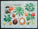 Poštovní známka Mosambik 2007 Ovoce Mi# Block 211 Kat 10€