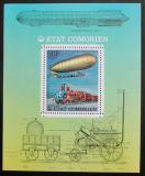 Poštovní známka Komory 1977 Doprava DELUXE Mi# 341 A Block