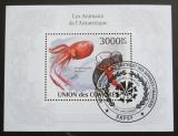Poštovní známka Komory 2009 Fauna Antarktidy Mi# Block 578 Kat 15€