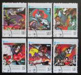 Poštovní známky Komory 1978 EUROPAFRIQUE Mi# 487-92