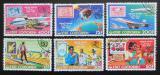 Poštovní známky Komory 1976 Poštovní služby OSN Mi# 298-303