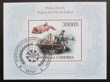 Poštovní známka Komory 2009 Rybolov Mi# Block 573 Kat 15€