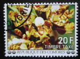Poštovní známka Komory 1977 Orchidej, doplatní Mi# 11