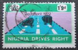 Poštovní známka Nigérie 1972 Změna dopravních předpisů Mi# 264