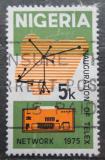 Poštovní známka Nigérie 1975 Mapa Nigérie Mi# 310