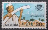 Poštovní známka Nigérie 1983 Světový rok komunikace Mi# 419