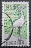 Poštovní známka Nigérie 1993 Jeřáb rajský Mi# 608