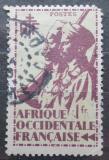 Poštovní známka Francouzská Západní Afrika 1945 Koloniální vojáci Mi# 11