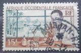 Poštovní známka Francouzská Západní Afrika 1953 Laborant Mi# 64