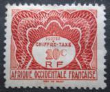Poštovní známka Francouzská Západní Afrika 1947 Doplatní Mi# 1