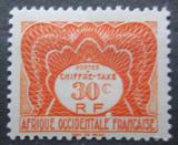 Poštovní známka Francouzská Západní Afrika 1947 Doplatní Mi# 2