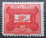 Poštovní známka Francouzská Rovníková Afrika 1947 Doplatní Mi# 12