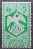 Poštovní známka Francouzská Rovníková Afrika 1941 Fénix Mi# 165