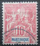 Poštovní známka Martinik 1900 Koloniální alegorie Mi# 40