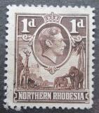Poštovní známka Severní Rhodesie, Zambie 1938 Král Jiří VI. Mi# 27