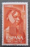 Poštovní známka Rio Muni 1962 Tradiční účes Mi# 31
