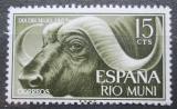 Poštovní známka Rio Muni 1962 Buvol africký Mi# 32