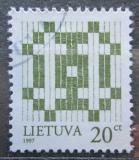 Poštovní známka Litva 1997 Dvojtý kříž Mi# 647 I