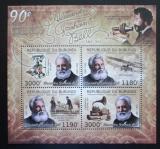 Poštovní známky Burundi 2012 Alexander Graham Bell Mi# 2650-53 Kat 10€