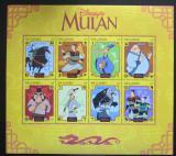 Poštovní známky Gambie 1998 Disney, Mulan Mi# 3038-45 Kat 15€